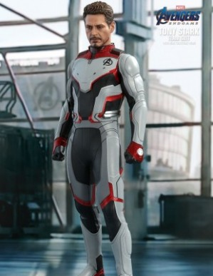 Hot Toys AVENGERS: ENDGAME TONY STARK TEAM SUIT 1/6TH Scale Figure