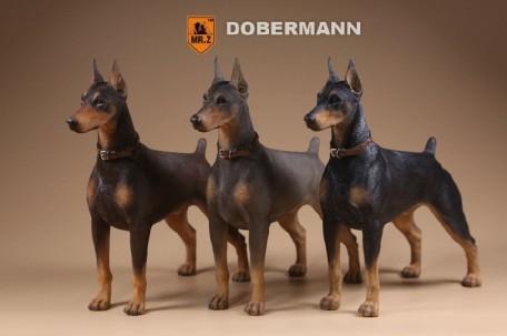 Mr Z German Doberman 1 6th Scale Resin Statue Mohock New