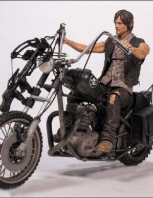 The Walking Dead Daryl Dixon Action Figure and Motorcycle Box Set