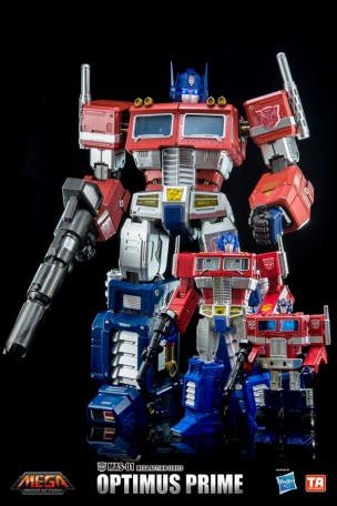 "46cm Toys Alliance MAS-01 Optimus Mega 18/"" Action  Figure"