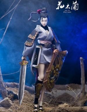 Original Effect Army Attractive Mu Lan 1/6TH Scale Female Figure