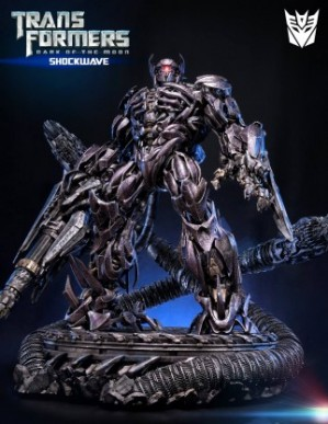 Prime 1 Studio Transformers Dark of The Moon Shockwave Statue