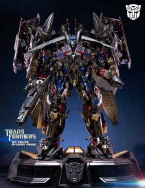 Prime 1 Studio Transformers Revenge of the Fallen Jetpower Optimus Prime Statue