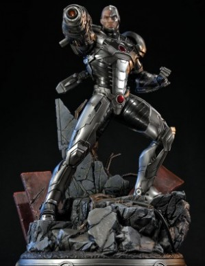 Sideshow Justice League New 52 Cyborg Statue