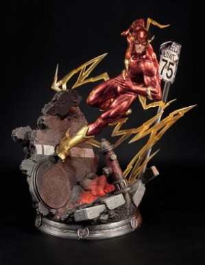 Sideshow Justice League New 52 The Flash Statue