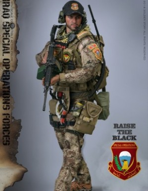 Soldierstory Iraq Special Operations Forces SAW GUNNER 1/6TH Scale Figure