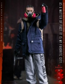VTS TOYS THE DARKZONE RIOTER 1/6TH Scale Figure