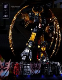 Soldierstory Transformers UNICRON and Hot Rod Home Decor Light Statue