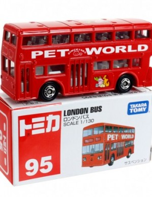 Takara Tomy Tomica #95 London Bus Diecast Model Car