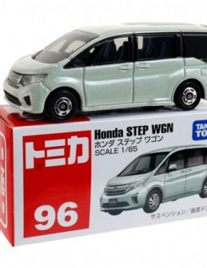 Takara Tomy Tomica #96 Honda STEP WGN Diecast Model Car