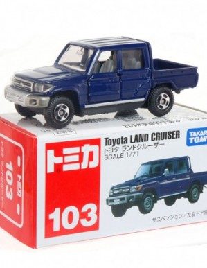 Takara Tomy Tomica #103 Toyota Land Cruiser Diecast Model Car
