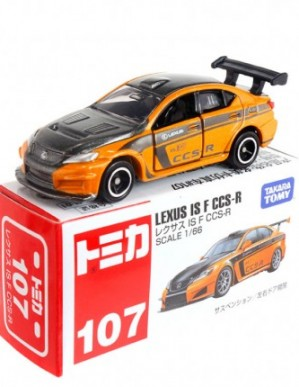 Takara Tomy Tomica #107 Lexus IS F CCS-R Diecast Model Car